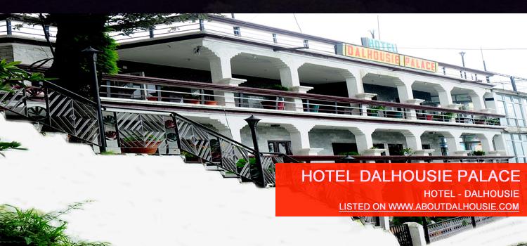 Hotel Dalhousie Palace