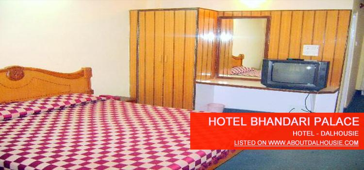 Hotel Bhandari Palace